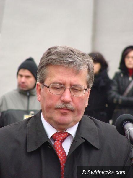 Świdnica: Marszałek Komorowski nie przyjedzie, ale będzie panelistów wielu