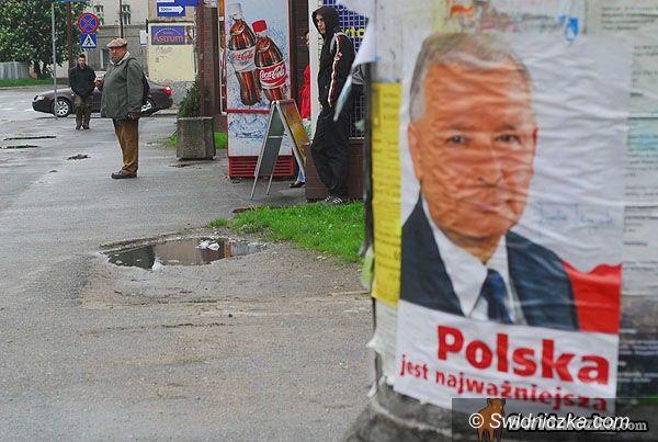 Świdnica: Świdnicki komitet wspiera Kaczyńskiego