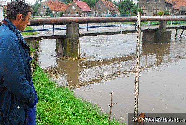 Dolny Śląsk: Poziom wody się podnosił, ale spadł
