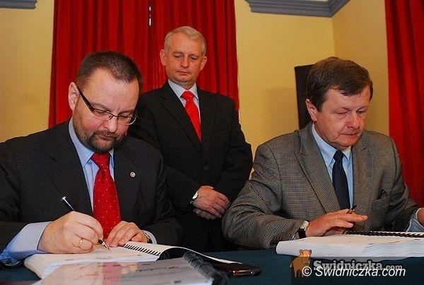 Świdnica: Startuje budowa drogi łączącej Świdnicę i Żarów z autostradą A4