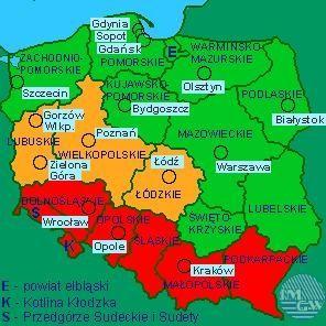 powiat świdnicki/Dolny Śląsk: Uwaga: intensywne opady deszczu