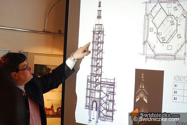 Świdnica: Dziewięciopiętrowa wieża ratuszowa dziś startuje
