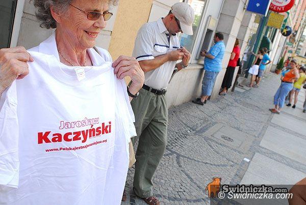 Świdnica: Oni popierają Jarosława Kaczyńskiego