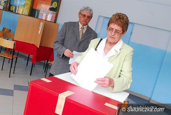 powiat świdnicki: Zagłosowało 27,5 tys. wyborców