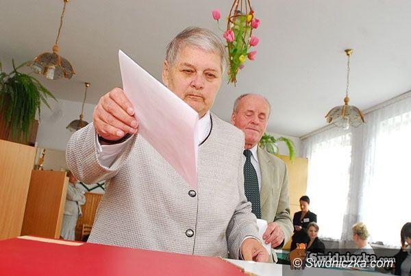 powiat świdnicki/kraj: Prawie 52 tys. naszych wyborców oddało głosy