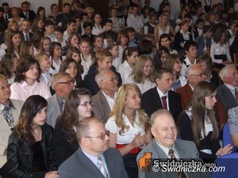 Bystrzyca Górna: Prymusi gminni nagrodzeni – w poniedziałek jadą na wycieczkę