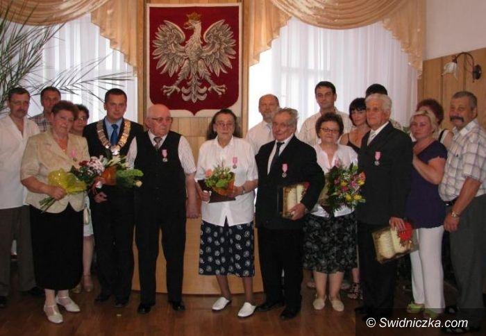 Jaworzyna Śląska: Nagrody za pożycie