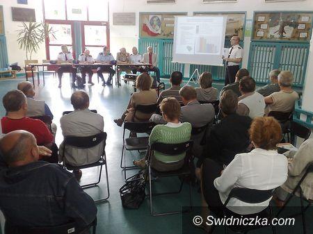 Świdnica: Mieszkańcy Zawiszowa i policja