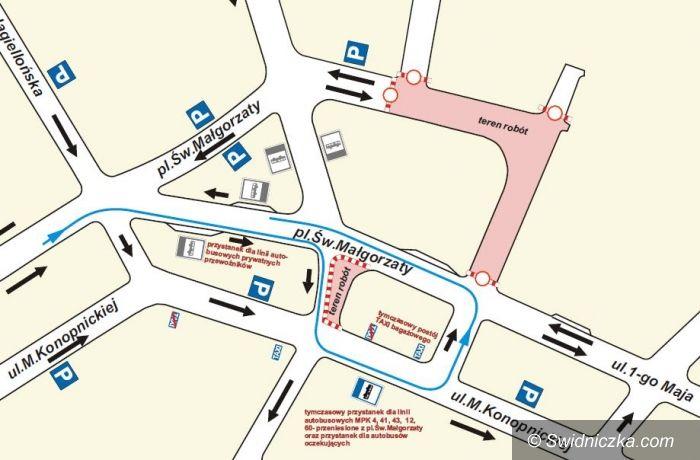 Świdnica: Uważaj gdzie parkujesz – od jutra nowe zmiany na pl. św. Małgorzaty