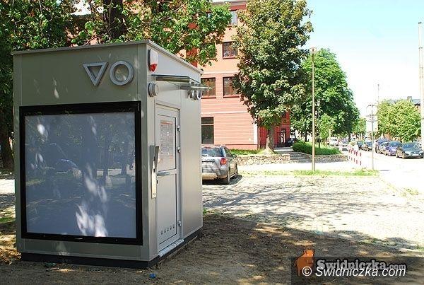 Świdnica: Woda spłukuje się automatycznie… Od dziś działa nowoczesna toaleta