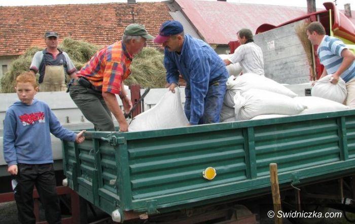 Czechy/Jaworzyna Śląska: Jaworzyńscy rolnicy solidarni z powodzianami