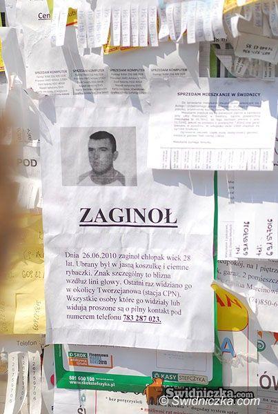 Świdnica: Zaginął człowiek…
