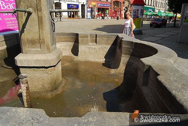Świdnica: Fontanny znów tryskają wodą
