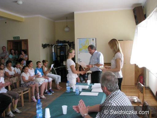 Marcinowice: Marcinowiccy prymusi nagrodzeni