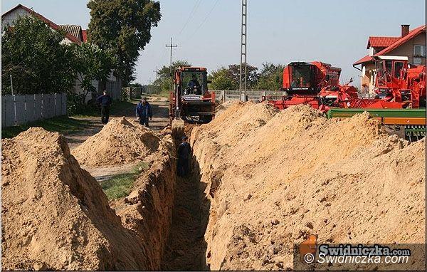 Strzegom: Kanalizują strzegomskie ulice