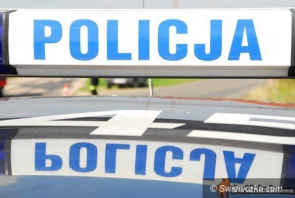Marcinowice: Pijany kierowca audi chciał przekupić policjantów