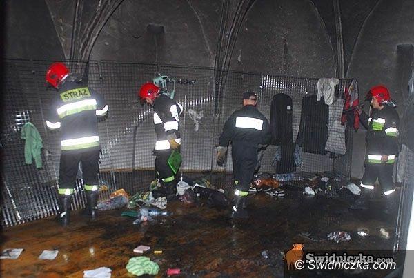 Świdnica: Policja bada przyczyny pożaru w katedrze