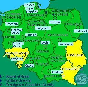 Dolny Śląsk: Wieczorem i w nocy może mocno lać
