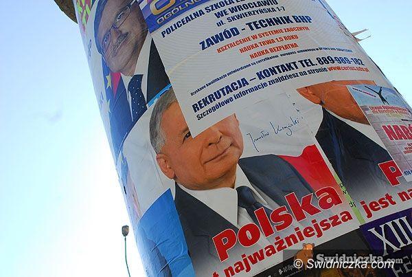 powiat świdnicki: Posprzątali po wyborach?
