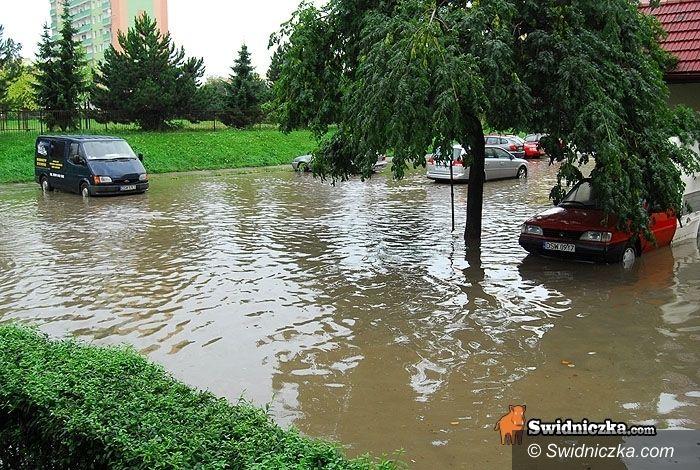 Dolny Śląsk: Prognozowany grad i burze