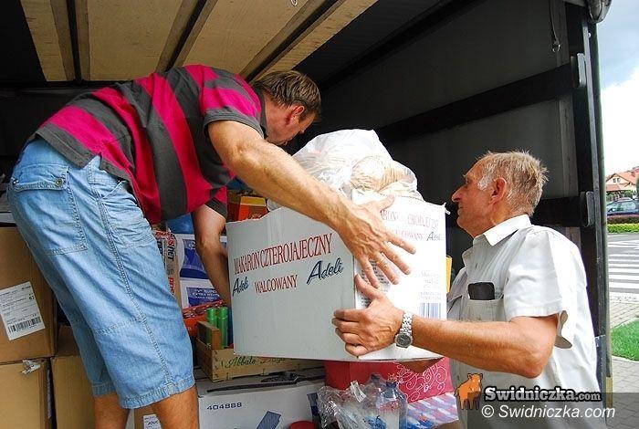 powiat świdnicki: Powodzianie ciągle na nas liczą