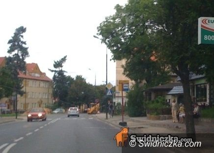 Świdnica: Roboty drogowe, przystanek przy ul. Łukasińskiego przeniesiony