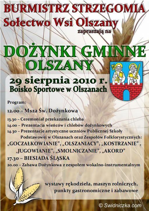 Olszany: Gmina Strzegom świętuje w Olszanach