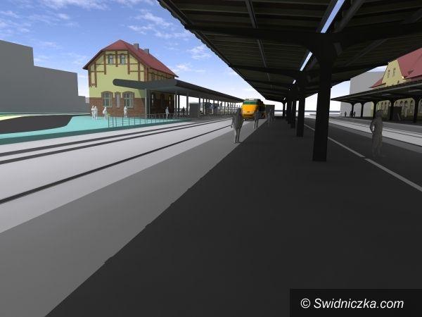 Świdnica: Miasto ogłasza przetarg na remont dworca, centrum przesiadkowe będzie gotowe w 2012 r.
