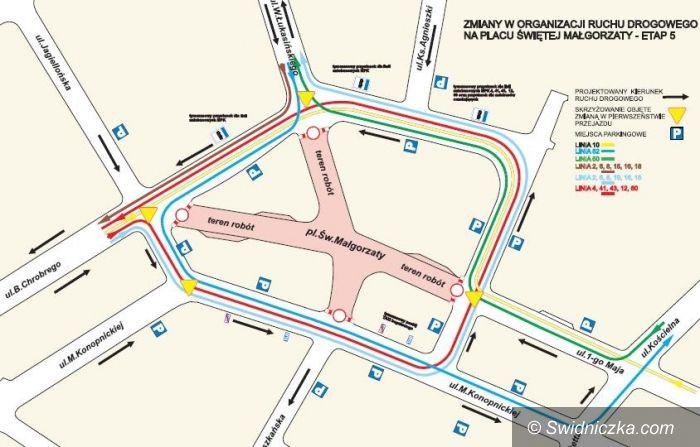 Świdnica: Remont placu św. Małgorzaty – z końcem sierpnia rusza ostatni etap