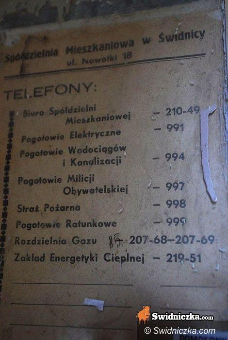 Świdnica: Dzwoń na Pogotowie Milicji Obywatelskiej!