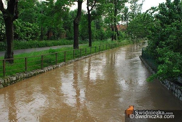 Dolny Śląsk: Możliwe lokalne podtopienia