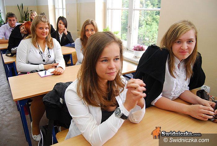 powiat świdnicki: Rok szkolny rozpoczęty