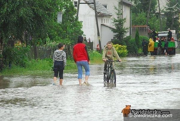 Dolny Śląsk: Znów najwyższe ostrzeżenie Biura Prognoz Hydrologicznych Wrocław
