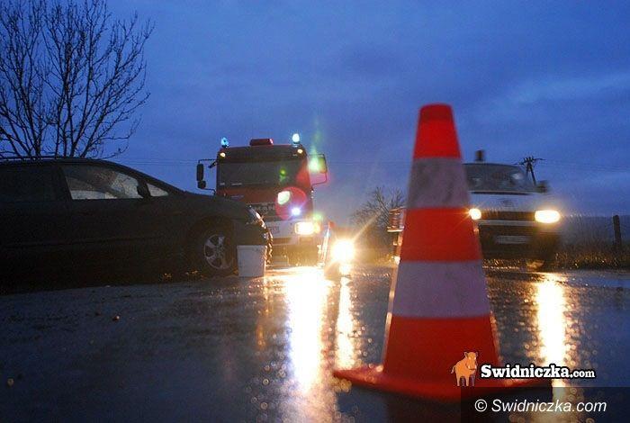 powiat świdnicki: To nie był Dzień Dobrych Wiadomości – dwie osoby zginęły, jedna ciężko ranna, jedna ranna lekko