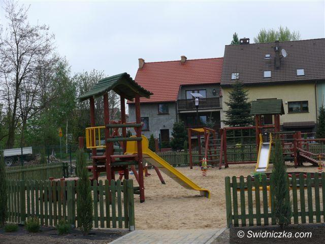 Strzegom: Nowy plac dla strzegomskich dzieciaków