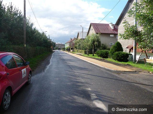 Nowice: Nowy chodnik dla Nowic