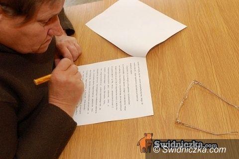 Świdnica: Do dziś zgłoszenia na V Dyktando Świdnickie