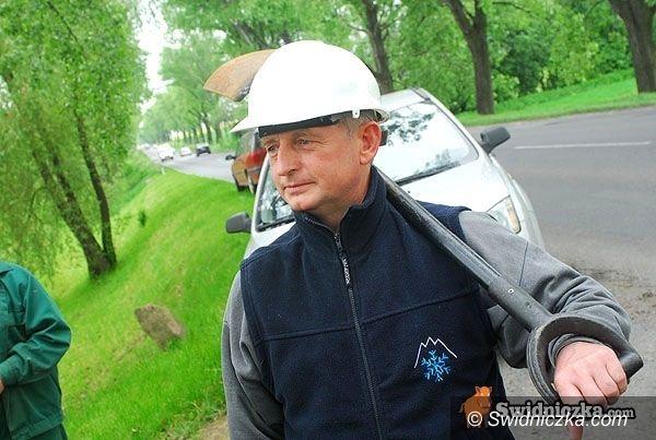 powiat świdnicki: 5,5 km dróg i chodnik – dziś odbiory