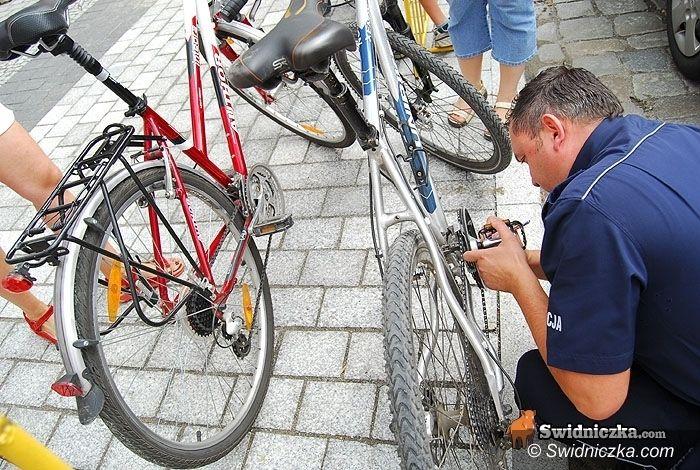 Świdnica: Zabierz rower na deptak i go oznakuj