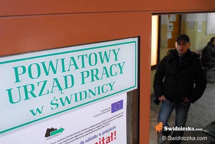 powiat świdnicki: Zniknęło 47 bezrobotnych