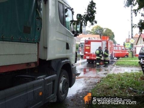 Marcinowice/Świdnica: Kierowcy tira, który spowodował wypadek w Marcinowicach, grozi do 8 lat więzienia