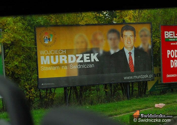Świdnica: Kampania na płotach i elewacjach