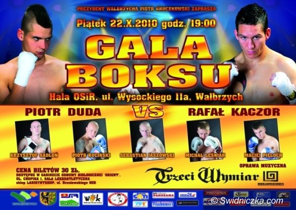 Wałbrzych: Gratka dla fanów boksu