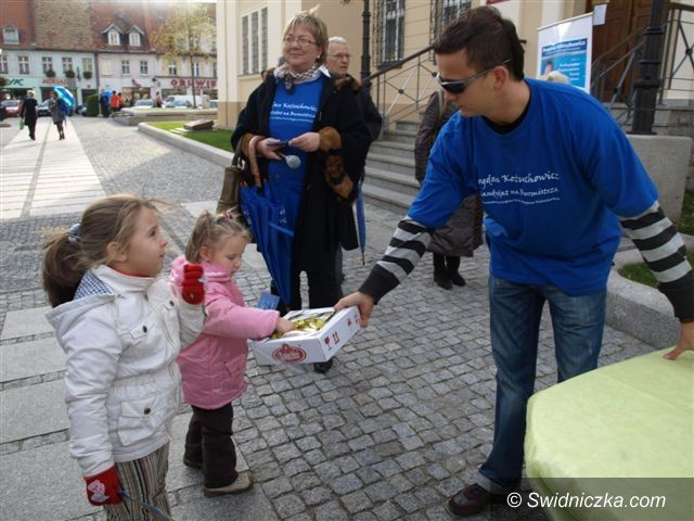 Świebodzice: Burmistrz Świebodzic zainaugurował kampanię
