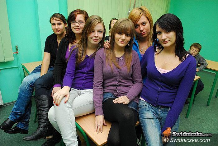Świdnica: Buszu spotkał się z uczniami Hotelarki
