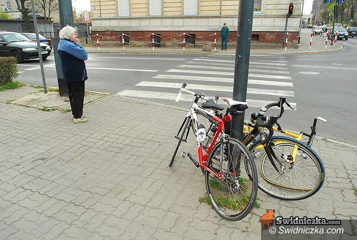 Świdnica: Opel kontra rower