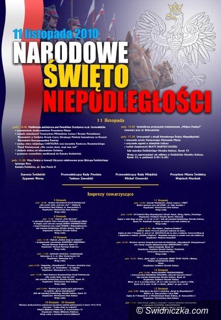 Świdnica: Święto Niepodległości – obchody już trwają [program]