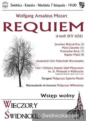 Świdnica: Wieczory Świdnickie – w niedzielę Requiem Mozarta