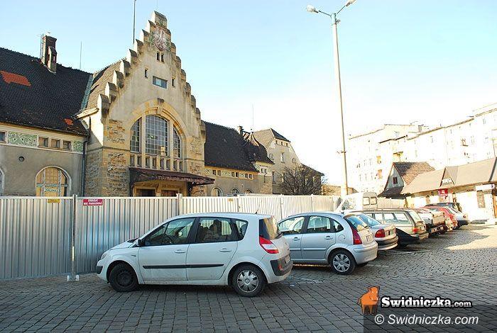 Świdnica: Dworzec stał się placem budowy