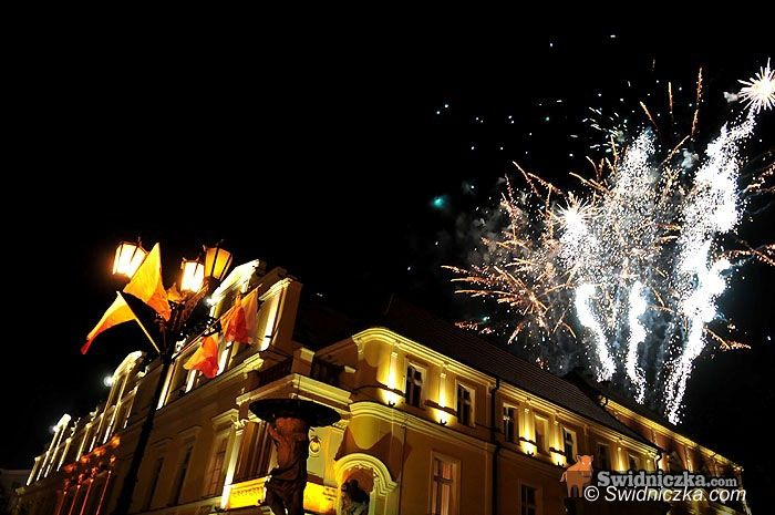 Świdnica: Niepodległościowe sztuczne ognie